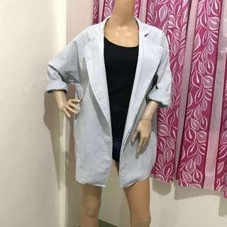 Size XL Blazer Oversize Korean Style
