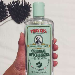 Thayers, Original Witch Hazel with Aloe Vera Formula [Alcohol-Free Toner], 12 fl oz [355 ml]