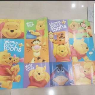 In stock winnie the pooh wrapping paper 74 ×52cm
