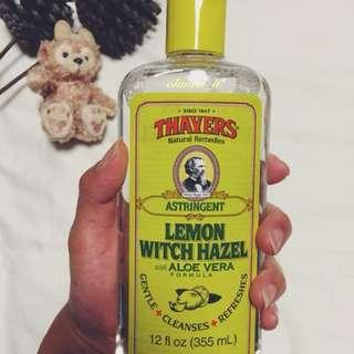 Thayers, Lemon Witch Hazel with Aloe Vera Formula [Astringent] , 12 fl oz [355 ml]