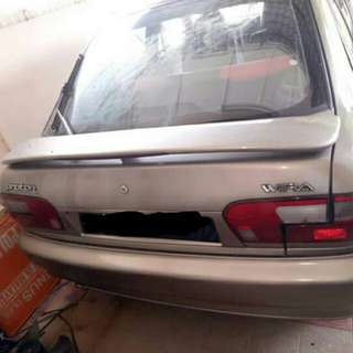 Wira 1.3 car availebal for rent in best price pr month 900 only