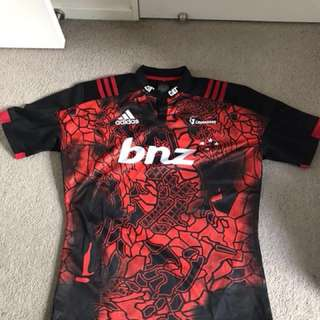 2017 Crusaders Rugby Home Jersey