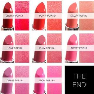 Clinique pop lip colour in Poppy pop & Melon pop