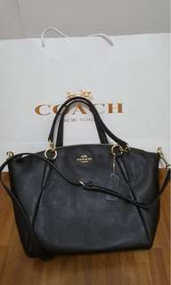 Coach Pebble Leather Small Kelsey Satchel Bag