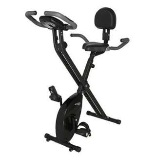 Bicycle Exercise X2E (Black) Ehance Gym bike Bicycle Heartrate (foldable)