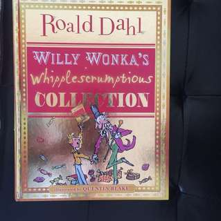 Roald Dahl Willy Wonks's Whipplescrumption Collection