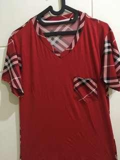 Tshirt merah kotak2