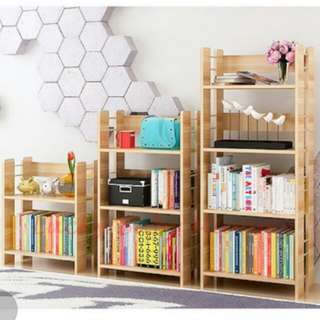 BN FREE DELIVERY Wooden Book Rack Book Case Shelves
