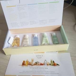 WASO Shiseido Skincare