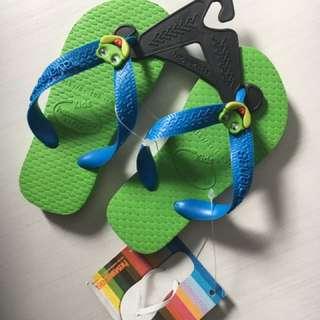 Havaianas Kids Frog Design Size 23/24