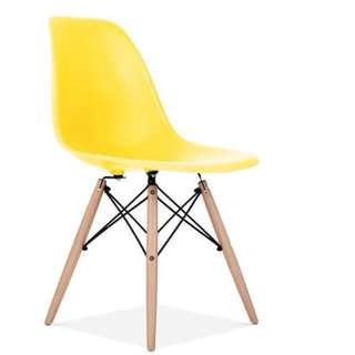 DEFECT UNIT EAMES CHAIR -YELLOW