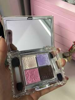 Eyeshadow palette 4 colours
