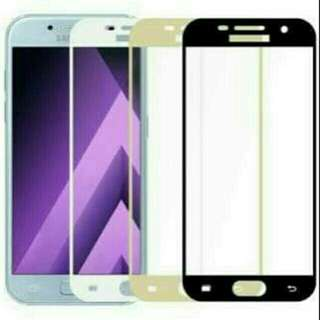 Samsung J7 Pro Anti Gores Kaca Tempered Glass Warna Color