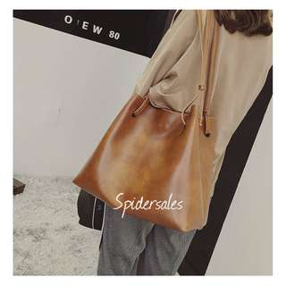 Ladies bag Shoulder bag Handbag  Sling Bag Bucket bag  Korean Women bag Quality bag