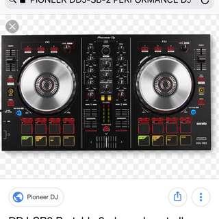 PIONEER DDJ-SB-2 PERFORMANCE DJ CONTROLLER