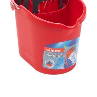 vileda quick wring bucket & vileda super twist microfibre mop