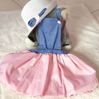 Le Ballon dress with matching hat