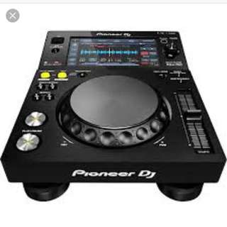 PIONEER XDJ-700 TOUCHSCREEN COMPACT PLAYER