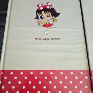 Daily Planner Buku Agenda Komik Miiko Cute Original Merchandise Limited