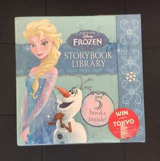 Brand new Disney Frozen storybook library