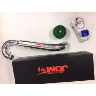 JDM ~~~  HKS Mushroom filter     Kenari ram pipe  complete with Filter ONE PIECE PIPING  kit model 38824.