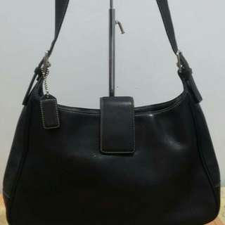 Orig Coach leather bag