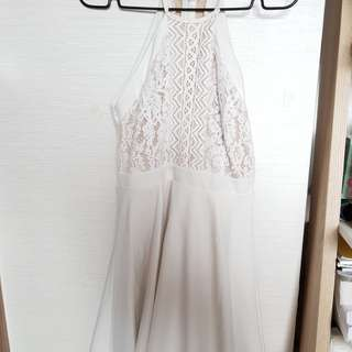 *Brand new* Pure White Lace Dress
