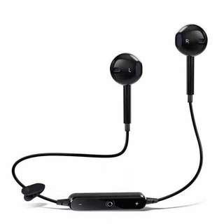 Bluetooth Headset (1) Black / (1) White