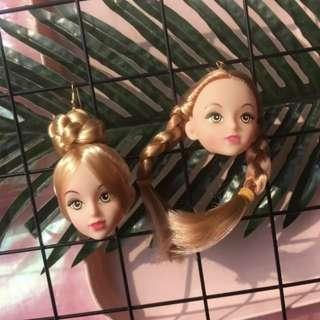 Barbie Doll Head Earring / Ear Clip