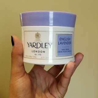 Yardley English Lavender Hair Cream