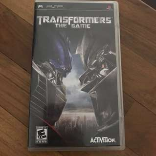 Psp transformers game