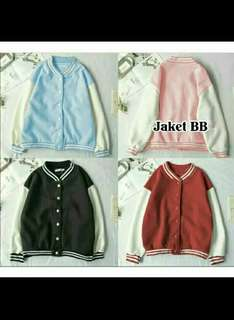 JAKET BASEBALL BAHAN BABYTERY FIT TO L