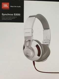 JBL Synchros S300i Premium on-ear stereo headphone
