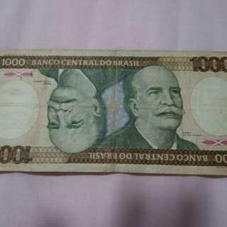 Old notes from Brazil