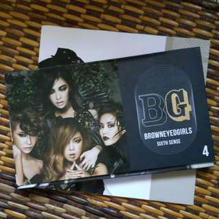 Brown Eyed Girls Sixth Sense Album