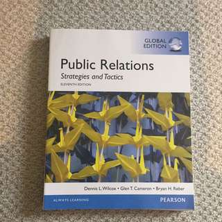 Public Relations Strategies and Tactics 11ed Global Edition