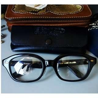GLAD HAND X 丹羽雅作 J-IMMY 黑色 JAMES DEAN 款 眼鏡