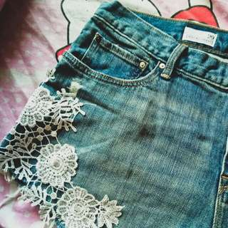 Denim Shorts ♡