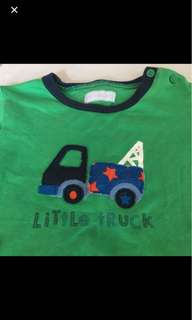 Early Days Truck Long Sleeve Children Infant Boys