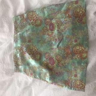 Silk style skirt