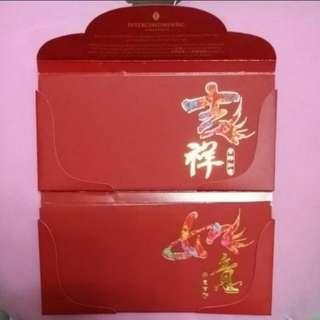 Hotel Intercontinental Ang Pow Hong Gal Red Packet Envelopes