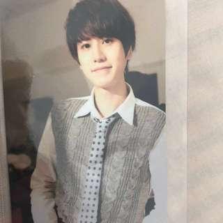 圭賢Super Junior KRY promise you 小卡