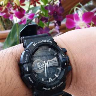 Casio G-Shock 400GB Full Ori dan box