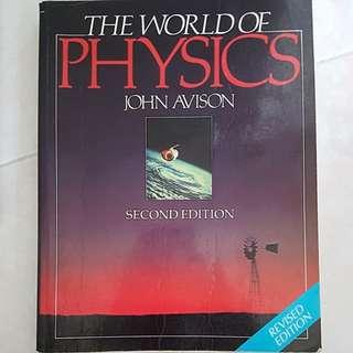 The World Of Physics by John Avison