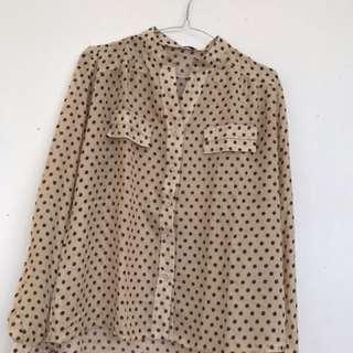 Vintage polka shirt