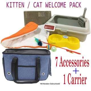 KITTEN WELCOME PACK / starter pack