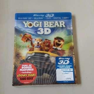 Yogi Bear, Blu-ray 3D + Blu-ray + DVD