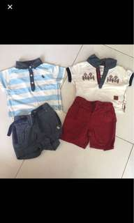 Boys Infant Baby Children Clothes From Poney