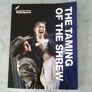 The Taming of The Shrew(Cambridge Edition)