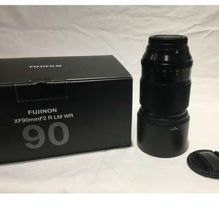 Lensa Fujifilm Fujinon XF 90mm F2 R LM WR Baru